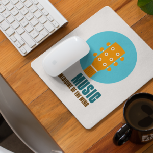 Music is the medicine of the mind MOUSE PAD